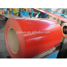 2016 hot color coated aluminum coil manufacture in europe
