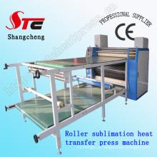 CE Aprovado Máquina De Prensa de Calor Sublimação Rolo Digital Tamanho Grande Imprensa Sublimação Rolo Da Máquina Rotativa