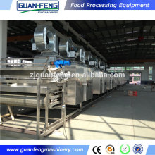 belt dryer fruit slice drying machine