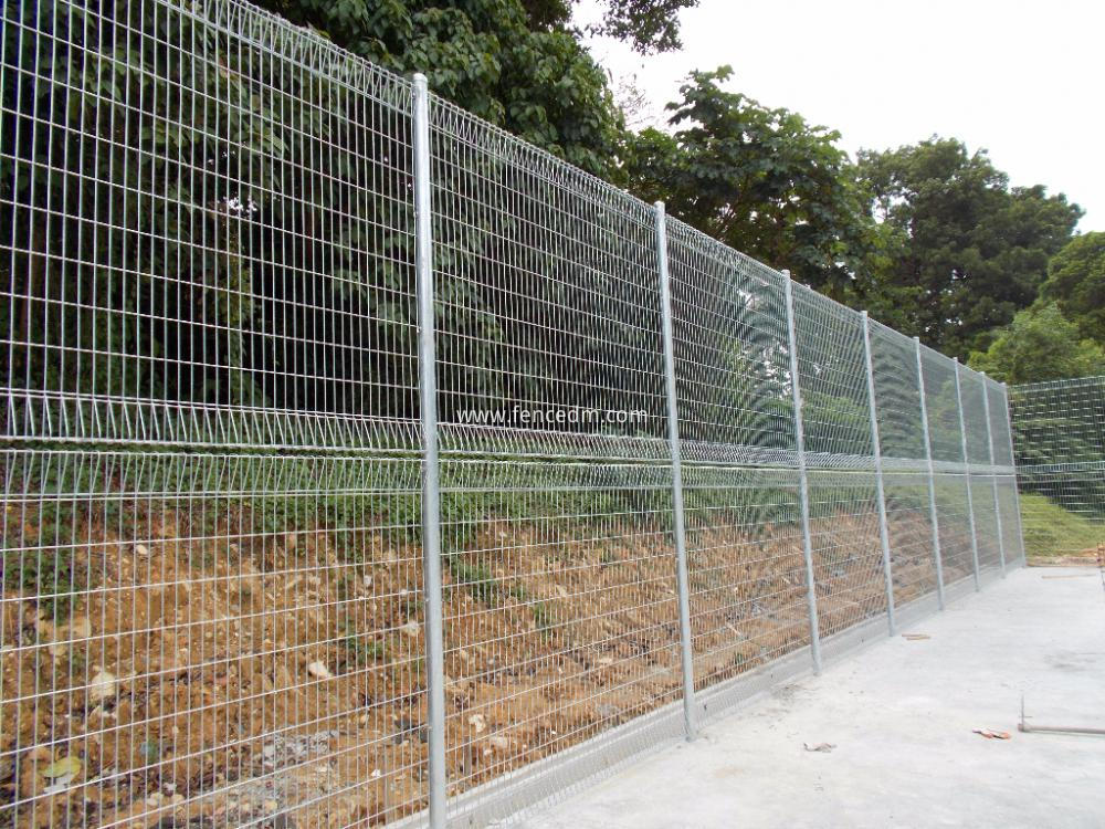 China galvanized welded brc fence manufacturers