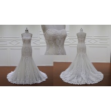 Brush Train Wedding Dresses