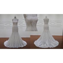 Vestido de novia de la sirena de Overlace