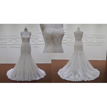 Overlace Mermaid Wedding Dress