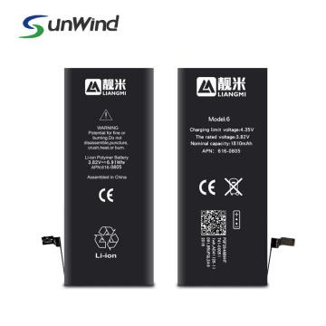 Batterie de remplacement pour téléphone portable Apple iPhone 6 6G