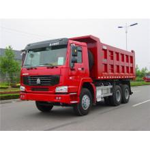 Mejor venta de 10 ruedas Sinotruk HOWO Dump Truck para África