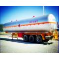 Venta al por menor del remolque del tanque del lpg del gas de petróleo de 3 árboles 56m3 a África El precio más bajo para las ventas