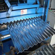 Máquina formadora de rollo para hoja sinusoidal