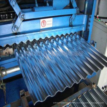 Máquina para techos corrugados