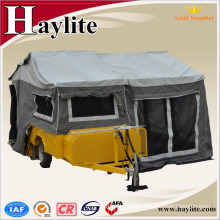 Hot Sale 7x4ft off road galvanized Camper Trailer