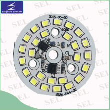 220V 12W LED PCB with IC (44mm)