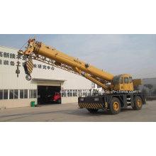 Nouvelle grue de terrain rugueux de 50 tonnes avec le prix bon marché Qry50