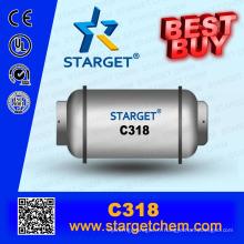Chine fabrique des gaz réfrigérants C318