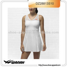 High performance knit dress tennis women sweat wicking