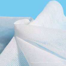 Rollo de tela no tejida Spunbond perforada con forma de perla en relieve