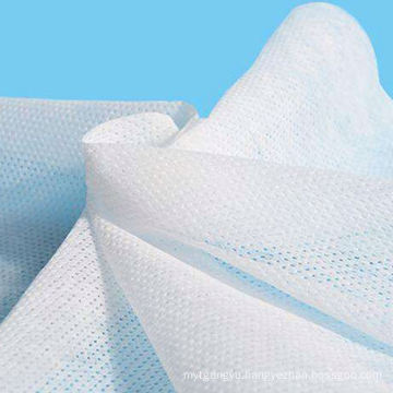 Embossing Pearl Shape-punched  Spunbond Nonwoven Fabric Roll