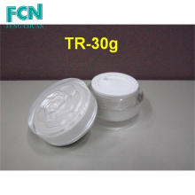 2 oz plastic wholesale acrylic cosmetic packaging jar container cream