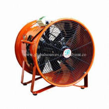18-inch Red Color Hand-carrying Exhaust Axial Blower Fan, Die-cast Aluminum Alloy