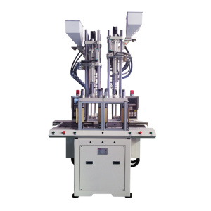 Double sliding vertical injection molding machine(Two materia)