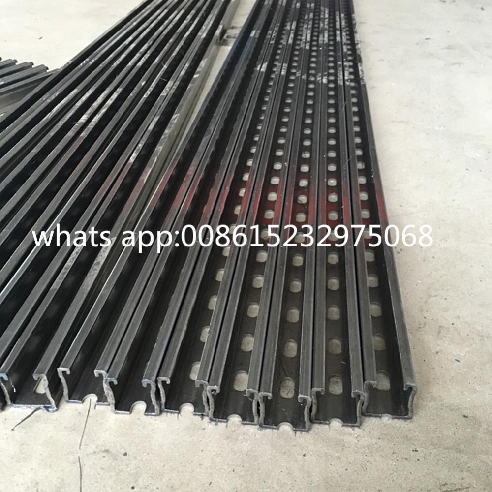 Bahagian galvanized c channel slotted channel