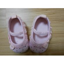 Новый стиль мягкой хлопчатобумажной обуви для новорожденных Детская обувь (BH-7)