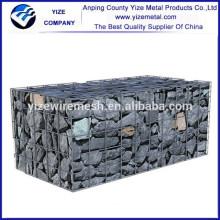 alibaba china factory supply anti-corrosive beautiful form Professional Manufacturer gabion wire mesh box control water