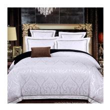 Amazon select supplier wedding jacquard bedding set duvet cover luxury bed sheet king size 100% Cotton bedding set for bedroom