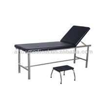 hospital examination couch with foot step