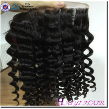 Factory wholesale price 100% virgin Brazilian 13x6 curly lace frontal hair