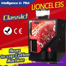 Distributeur automatique de café espresso (Lioncel E3S)