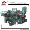 Motor diesel marino del motor del barco del movimiento 4 del motor marino de YC6A250-C20 250hp con la caja de engranajes