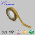 bande transparente bâillonnée avec ISO9001