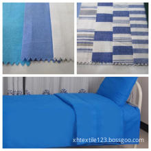100% Cotton Bed Sheet Fabric for School and Hospital Beding