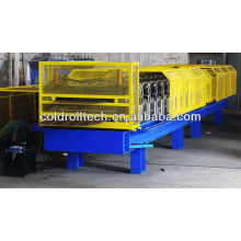 Corrugated panel and trapezoid Roof double layer roll forming machine