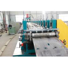 Máquina de moldagem de rolo de alta qualidade Highway Guardrail, máquina de fabricação de chapa metálica galvanizada