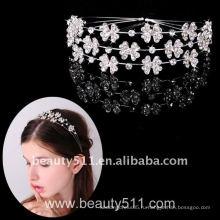 Astergarden реальные фото свадебные аксессуары Тиара корона ASJ016