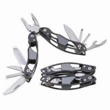 Stainless Steel Multi Plier with Convenient for Outdoor Activity, Handle in Anodized Color