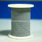 high reflective yarn piping in grey