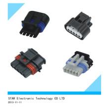 Connecteur mâle automatique électrique à 5 voies