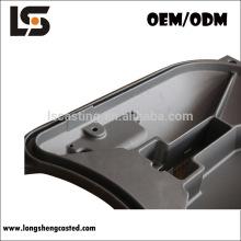 Presure aluminio customed a presión piezas de fundición para el carril de alta velocidad