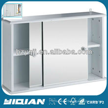 Modern Wall Hung Mirror Cabinet Sliding Door Bathroom Mirror Cabinet