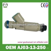 Piezas de automóvil genuinas de China inyector de combustible para TRIBUTE AJ03-13-250