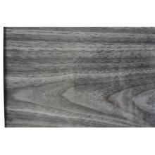 Bobina de aluminio de diseño de madera de nogal negro
