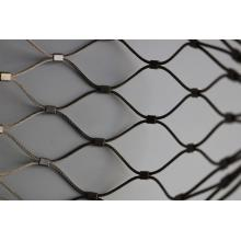 WOVEN TYPE FLEXIBLE STEELE STEEL CABLE MESH