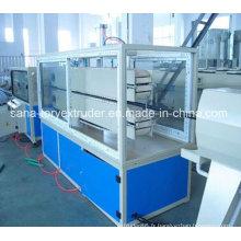Tuyau de PE de pp faisant la chaîne de production de machine / tuyau