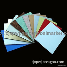 color coated aluminium composite panel for decoration
