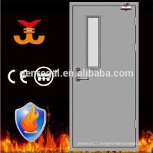 BS476 Tested Vision fire rated Metal Door