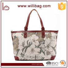 Fashion Printing Handbag For Women Hand Bag Cotton Canvas Tote Bag