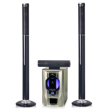 3.1 wooden vibration tower woofer speaker