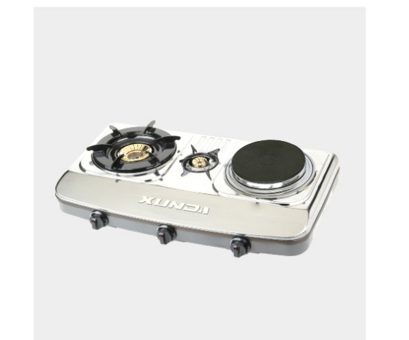 Stainless Gas Stove With 1 Hotplate