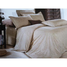 100% Cotton or T/C 50/50 Jacquard Hotel/Home Bedding Set (WS-2016016)